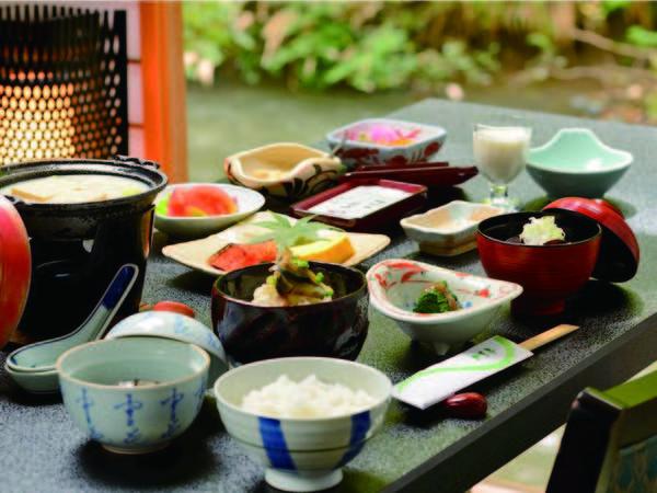 【朝食/例】会津産の食材を使用した和食膳