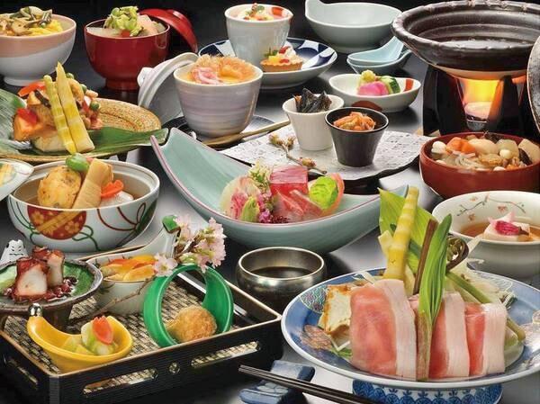 【季節の和会席/例】会津食材をたっぷり堪能!気軽に楽しむ季節の和会席