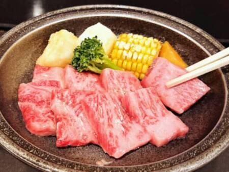福島牛陶板焼き/例