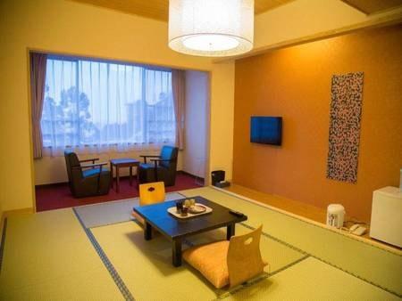 【和室/例】広さ8畳以上。お布団は事前に敷かせていただきます