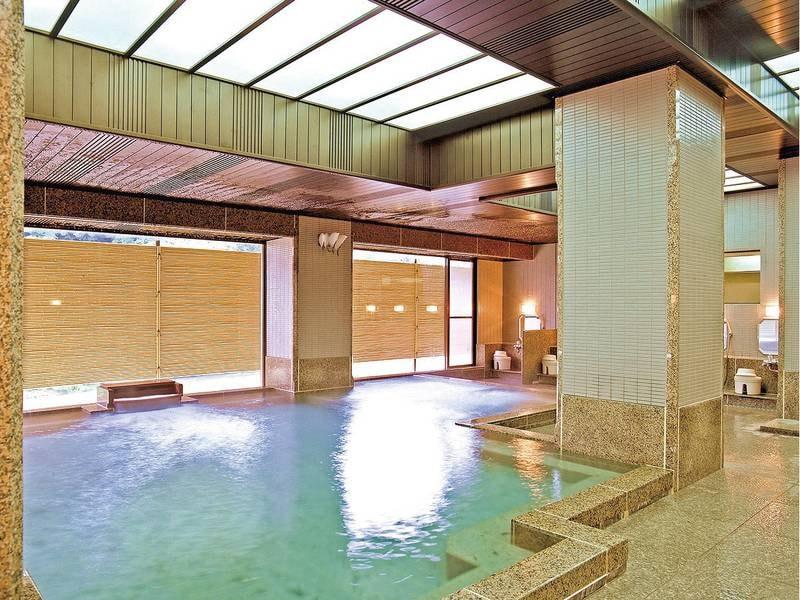 【大浴場】奥州三名湯のひとつで歴史深い「飯坂温泉」を堪能大浴場