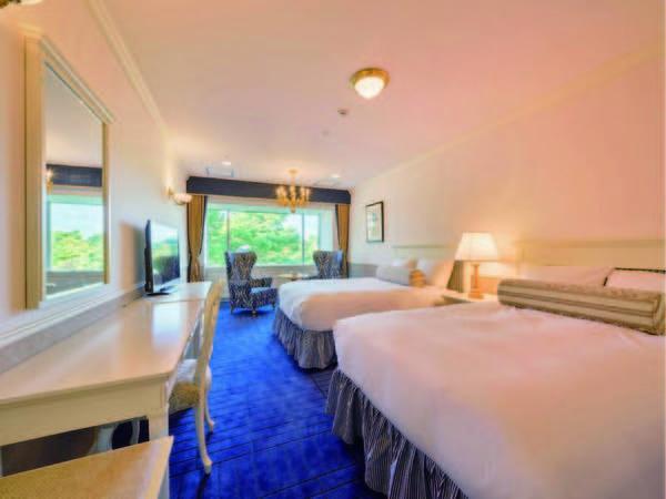 【スーペリアツイン/例】広さ41㎡、クラシックな装いを現代にアレンジしたお部屋