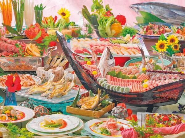 ★6/30まで蟹食べ放題付★和洋中の豪華創作グルメが食べ放題!