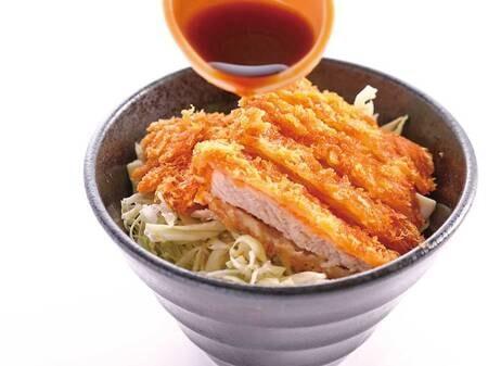 夕食バイキング/ソースかつ丼