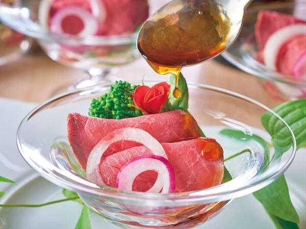 春野菜とローストビーフ(例/5月まで)