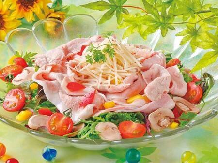 【2021夏フェア6/1~7/21まで】冷製 豚しゃぶ
