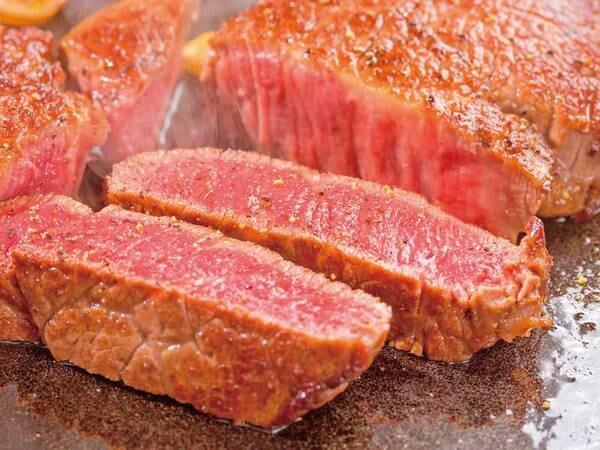 2021秋フェア 厚切りステーキ※ステーキは調味牛脂を注入した加工肉です