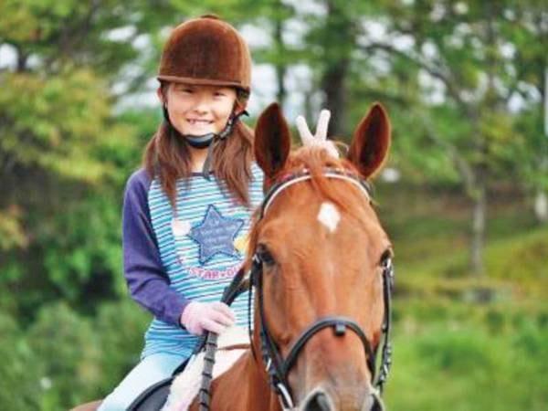 【乗馬/例】子供から大人まで楽しめる※別途料金