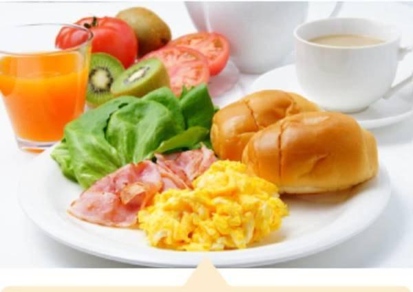 朝食付 /例