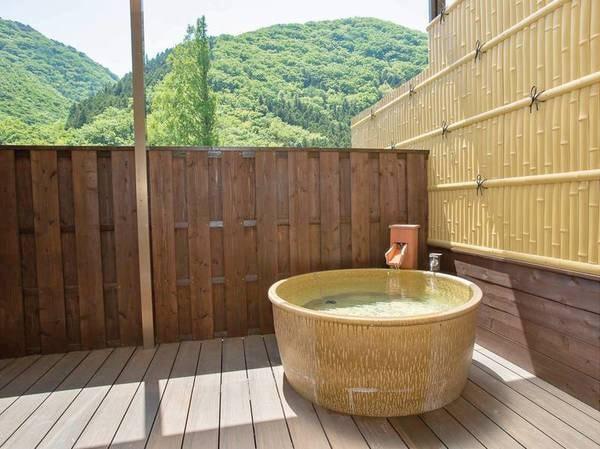 【露天風呂付き客室/例】