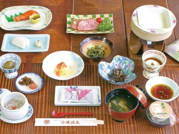 【朝食/例】朝は和食膳をご用意