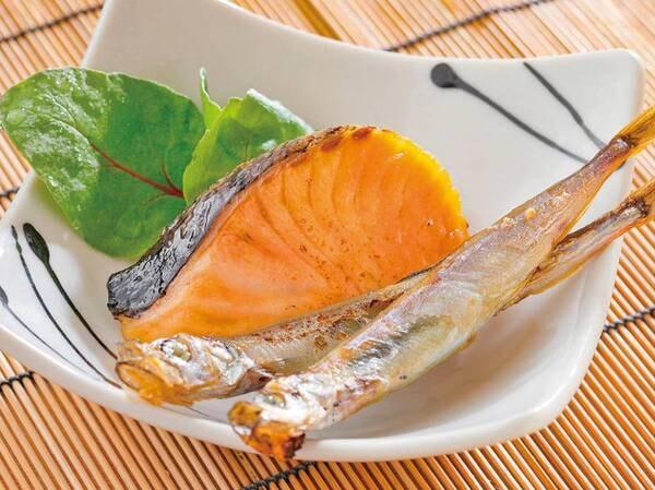 朝食焼き魚一例