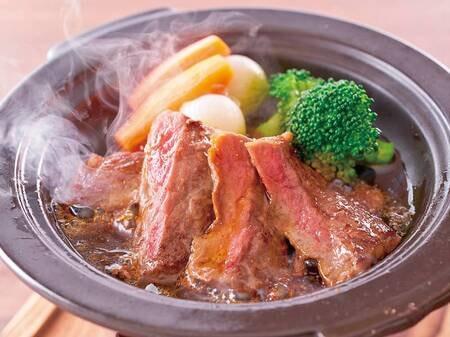 ステーキ陶板焼き(例/5月まで)
