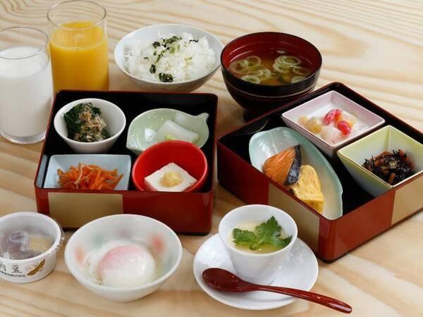 【朝食イメージ】ご飯・お味噌汁おかわり自由!