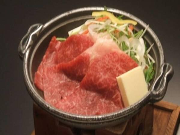 福島牛の焼きしゃぶ