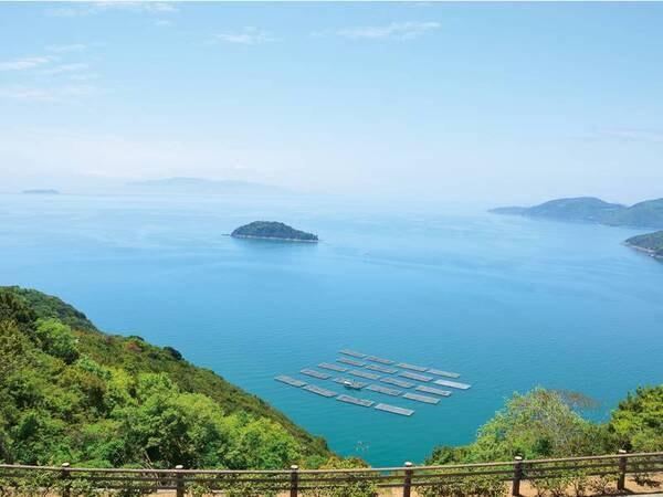 周辺景色 瀬戸内海国立公園に佇む絶景の万葉岬