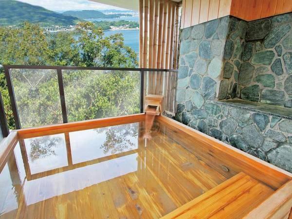 【海の湯】女湯檜風呂