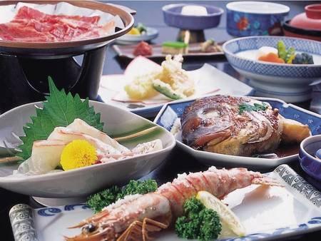 【夕食/ある時季の例】