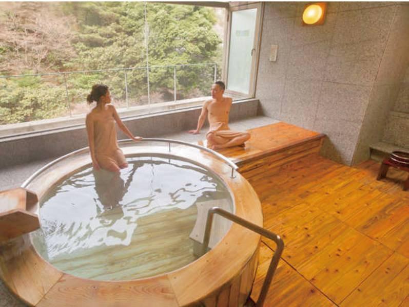 【貸切風呂】檜風呂