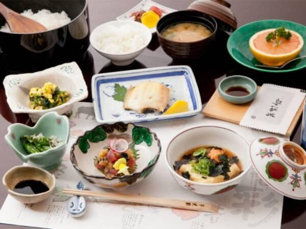 【朝食/例】体に優しい和食膳をご用意