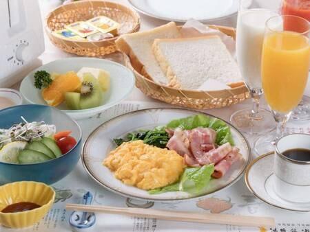 【朝食/例】洋食膳のご用意も可能です