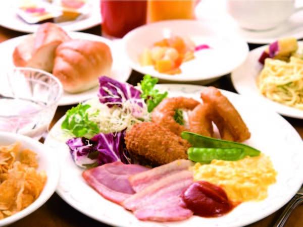 【朝食/例】種類豊富なバイキング