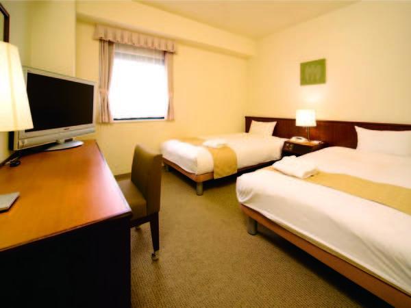 【ツイン/例】16,5㎡の客室に110cm幅のベッドを2台ご用意