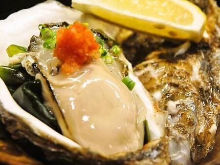 【夏限定】白いか&岩牡蠣会席/例