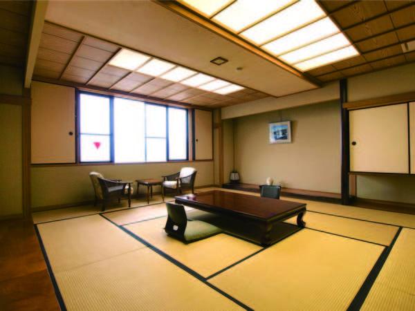 【15畳和室/例】和室からは浜坂港を一望できる