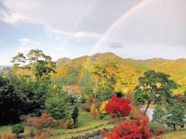 【秋の庭】