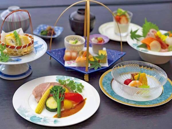 【季節の創作和食コース】