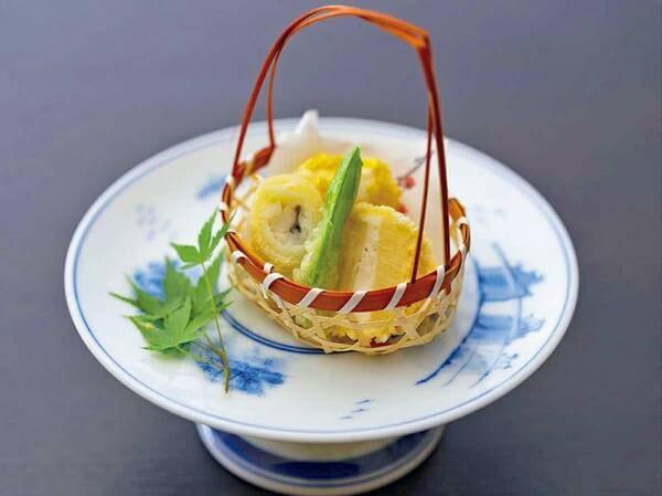 【季節の創作和食コース】揚げ物/例