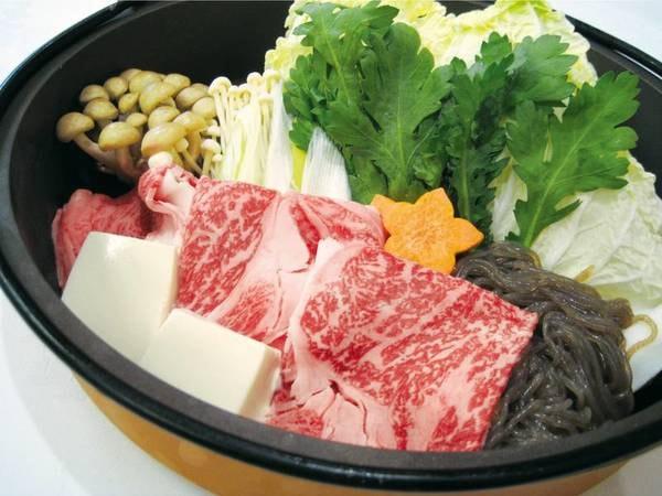 【本場「但馬牛」すき焼きプラン/例】ブランド牛の但馬牛をすき焼きでご用意