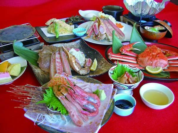 【夕食/例】蟹1.5杯相当を食す!