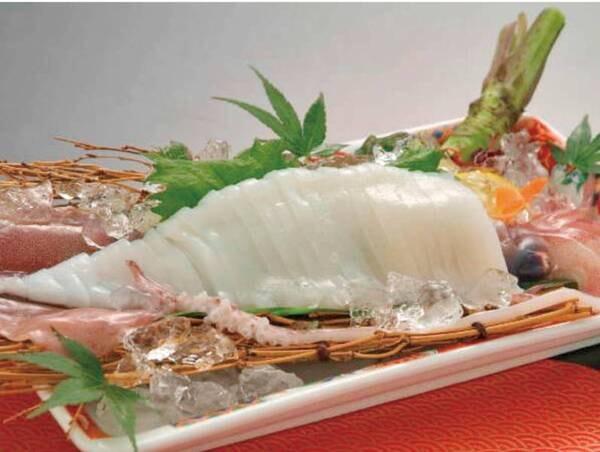 【夏季限定】山陰の白イカも頂ける海鮮会席プラン/例