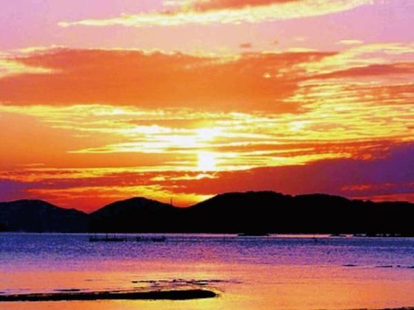 美しい夕景/例