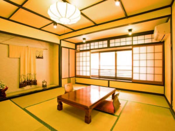 【客室/例】落ち着きのある純和風客室。食事はゆっくりお部屋食で