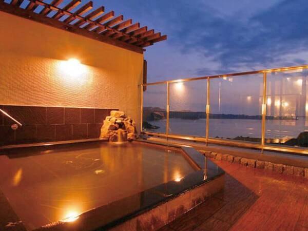 【うめ丸】【高台から見渡す鳴門海峡の大パノラマに感動】とろとろ美人の湯と宿自慢「鯛料理」の数々