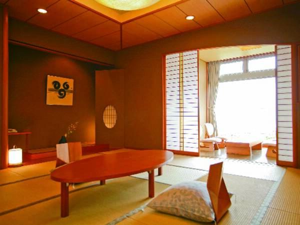 展望内風呂付!海が望める広々12.5畳客室/例