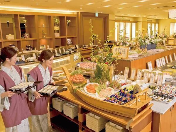 神戸牛付!四季菜ブッフェ/一例