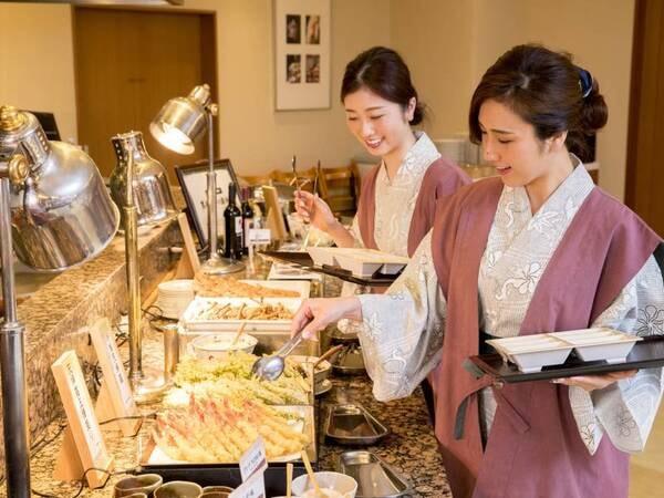 神戸牛付!四季菜ブッフェ