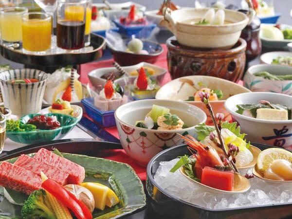 【夕食/神戸牛付会席例】日本が世界に誇るブランド牛、「神戸牛」の逸品料理付