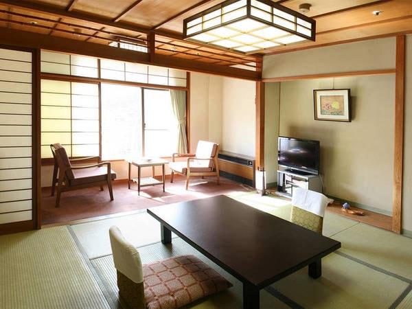 8畳以上の和室(禁煙)※広さ・眺望は宿お任せ