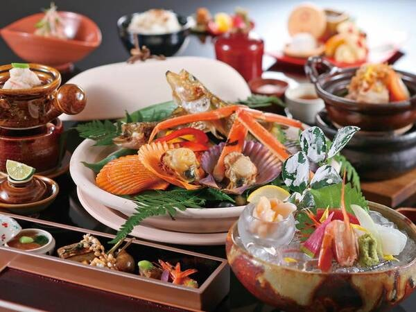 【湧泉の宿 ゆあむ】季節ごと、旬の食材を生かした彩り豊かな創作会席が楽しめる