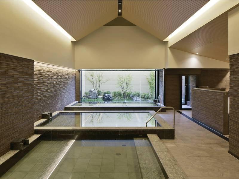 【1階屋内大浴場】暦風呂や高濃度炭酸泉など