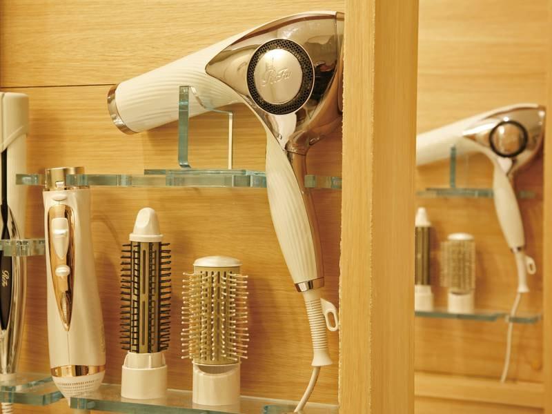 【脱衣室】最新の美容機器も体験!