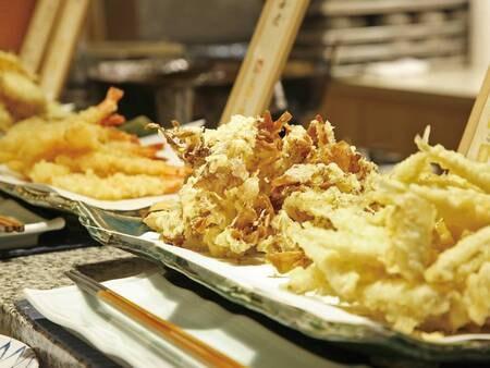 【夕食ディナーブッフェ/例】天ぷら