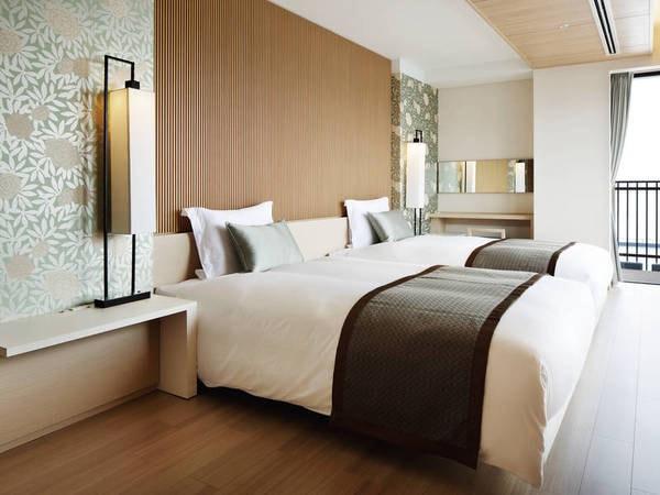 【ハーバースイート客室/例】ベッドルーム