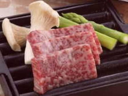 神戸牛の鉄板焼きサービスプラン/一例