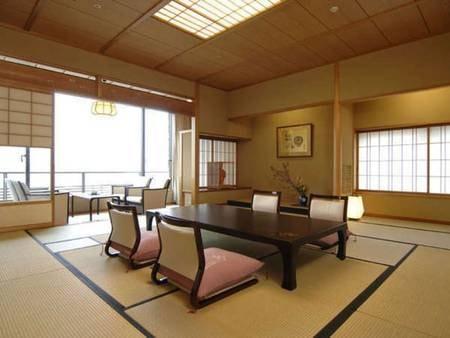 【特別室 利休】 和室【檜造り内風呂付】(一例)